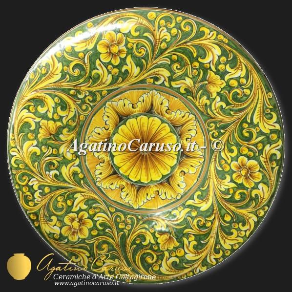 Piatti in ceramica da parete