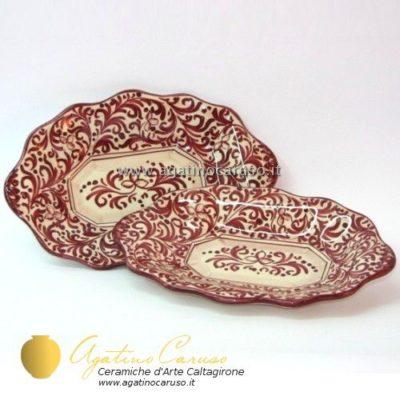Bomboniera in ceramica di Caltagirone