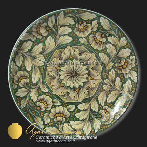 Piatti di caltagirone catalogo ceramiche di caltagirone for Piatti decorati