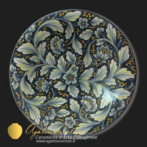 Piatto murale Ceramiche di Caltagirone