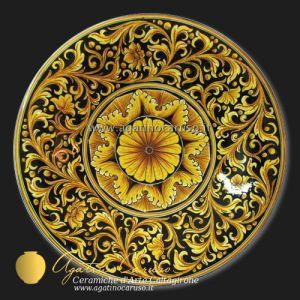 Piatto da muro Ceramiche di Caltagirone