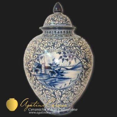 Vaso in ceramica di Caltagirone