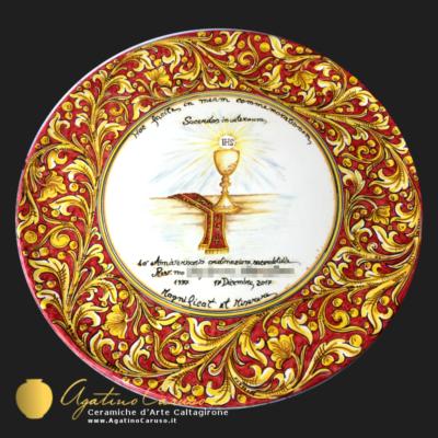 Ceramiche di Caltagirone personalizzate