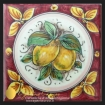 Mattonella/Piastrella in ceramica di Caltagirone